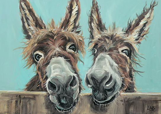 Double Trouble - Louise Brown / Print size: 310 x 220 mm
