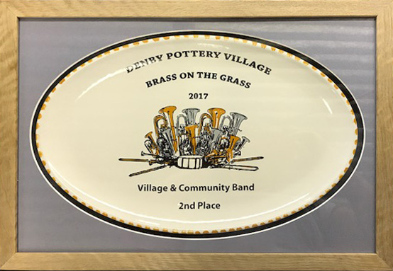 Denby Pottery Village - Brass on the grass 2017