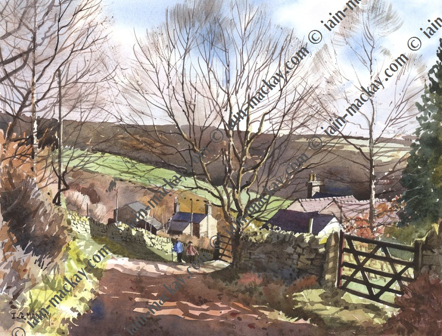 Lumsdale toward Tansley - Iain McKay